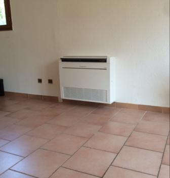 installation d 39 une pompe chaleur mitsubishi electric arles bouches du rh ne comathec. Black Bedroom Furniture Sets. Home Design Ideas